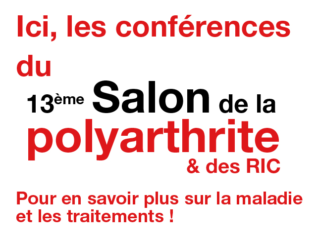 Salon de la polyarthrite for Salon polyarthrite